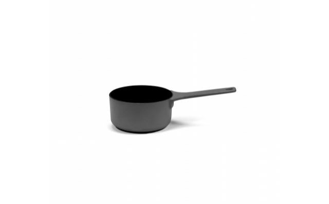 Picture of Enameled Cast Iron Saucepan - Black