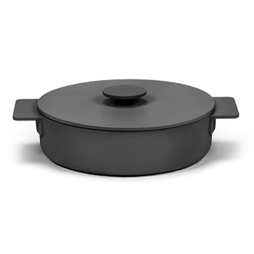 Picture of Enameled Cast Iron Casserole Dish - Black