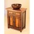 Picture of El Cerrito Wood and Copper Vanity