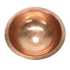 "14"" Round Copper Bathroom Sink by SoLuna"