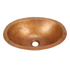 "Picture of 15"" Oval Copper Bathroom Sink by SoLuna"
