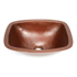 """Picture of 17"""" Rectangular Ovoid Copper Vessel Sink by SoLuna"""