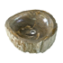 """Picture of Medium Rounded Petrified Wood Sink 18""""-22"""""""