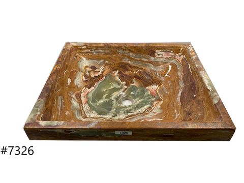 SoLuna Red Onyx Zen Vessel Sink - Sale