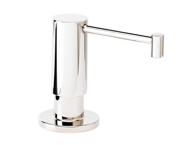 Picture of Waterstone Contemporary Soap Dispenser - Satin Nickel - SALE