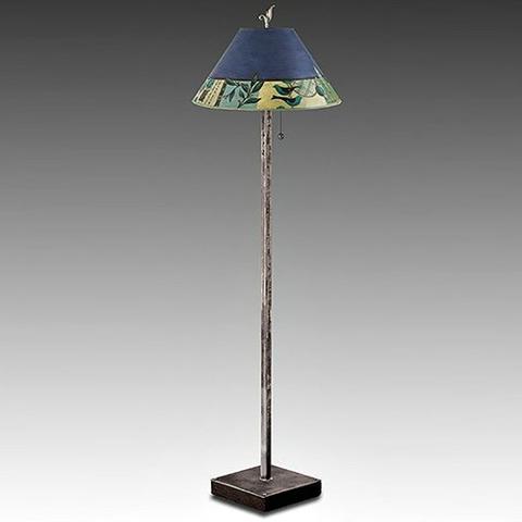 Janna Ugone Floor Lamp | New Capri in Periwinkle