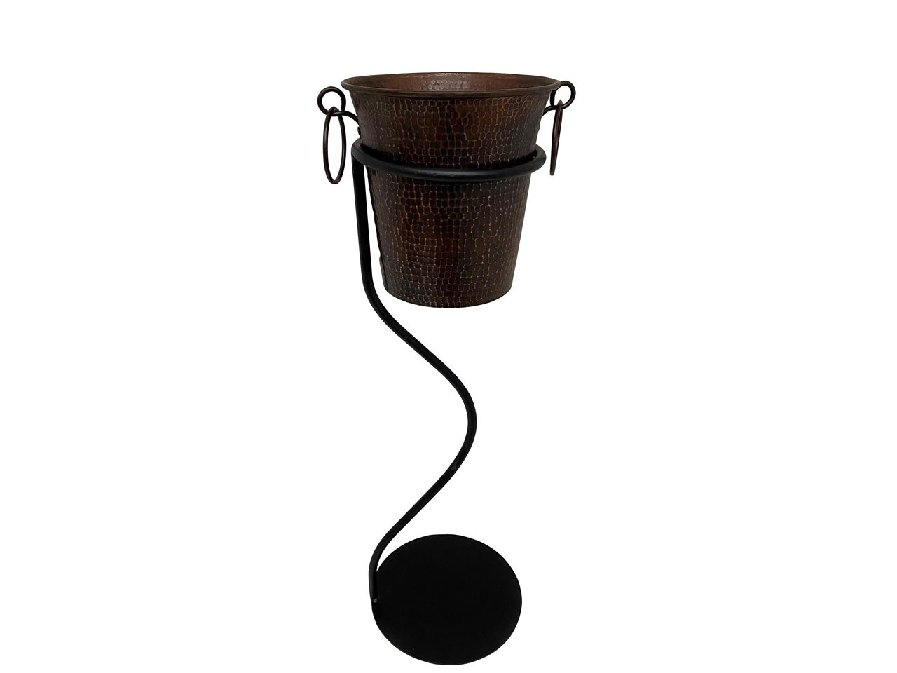 Picture of Hammered Copper Wine Bucket By SoLuna