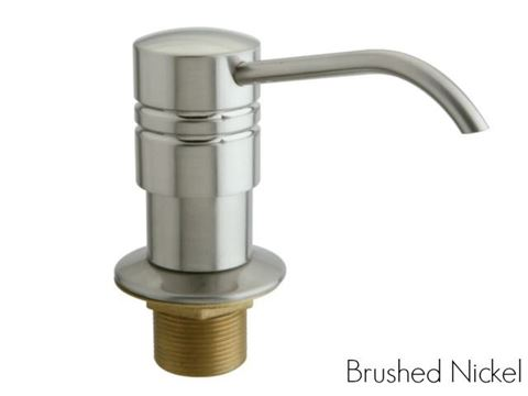 Kingston Brass Straight Nozzle Metal Soap Dispenser