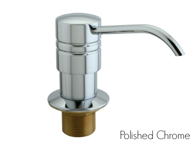 Picture of Kingston Brass Straight Nozzle Metal Soap Dispenser