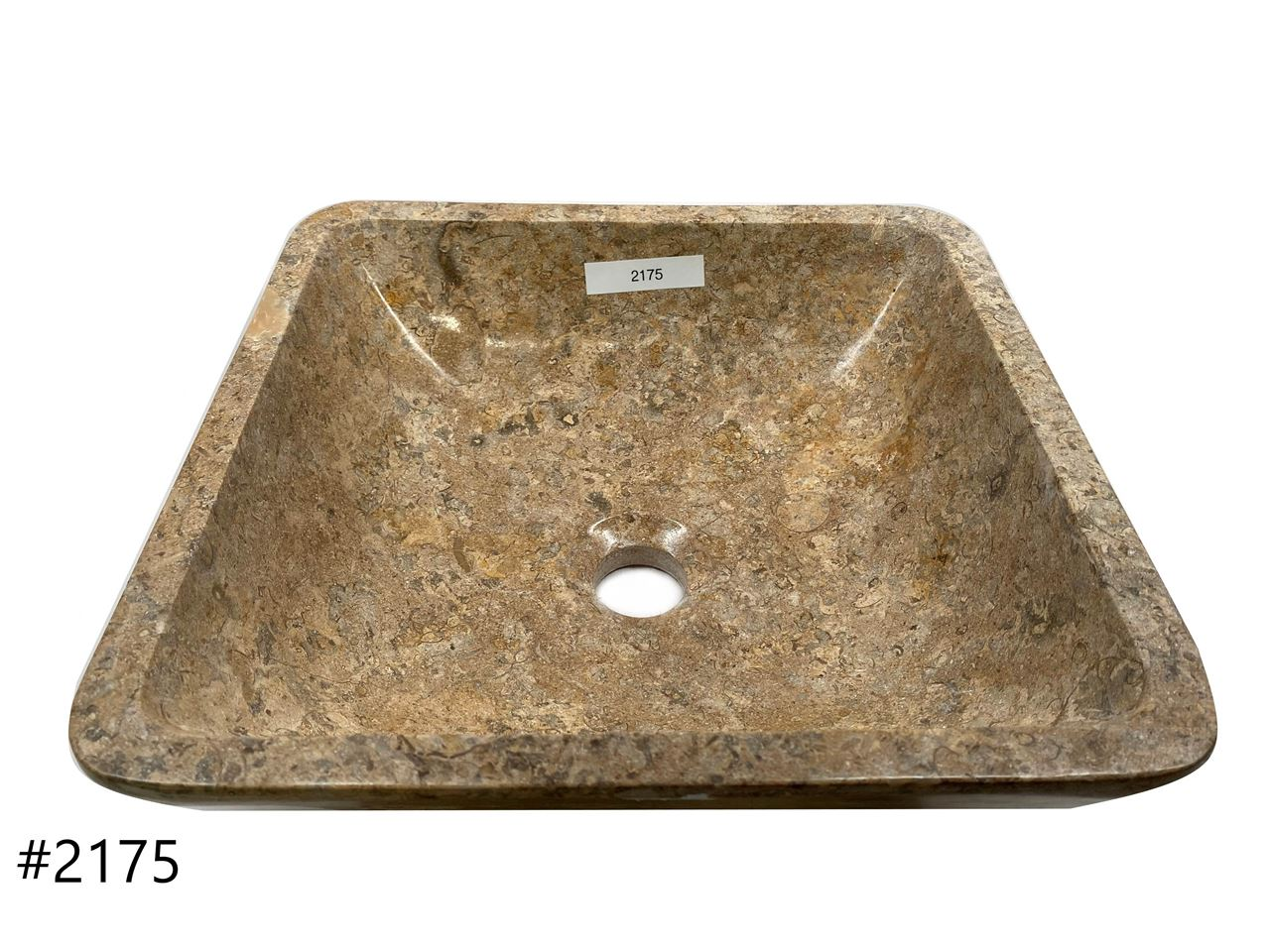 Picture of Oceanic Square Stone Vessel Sink
