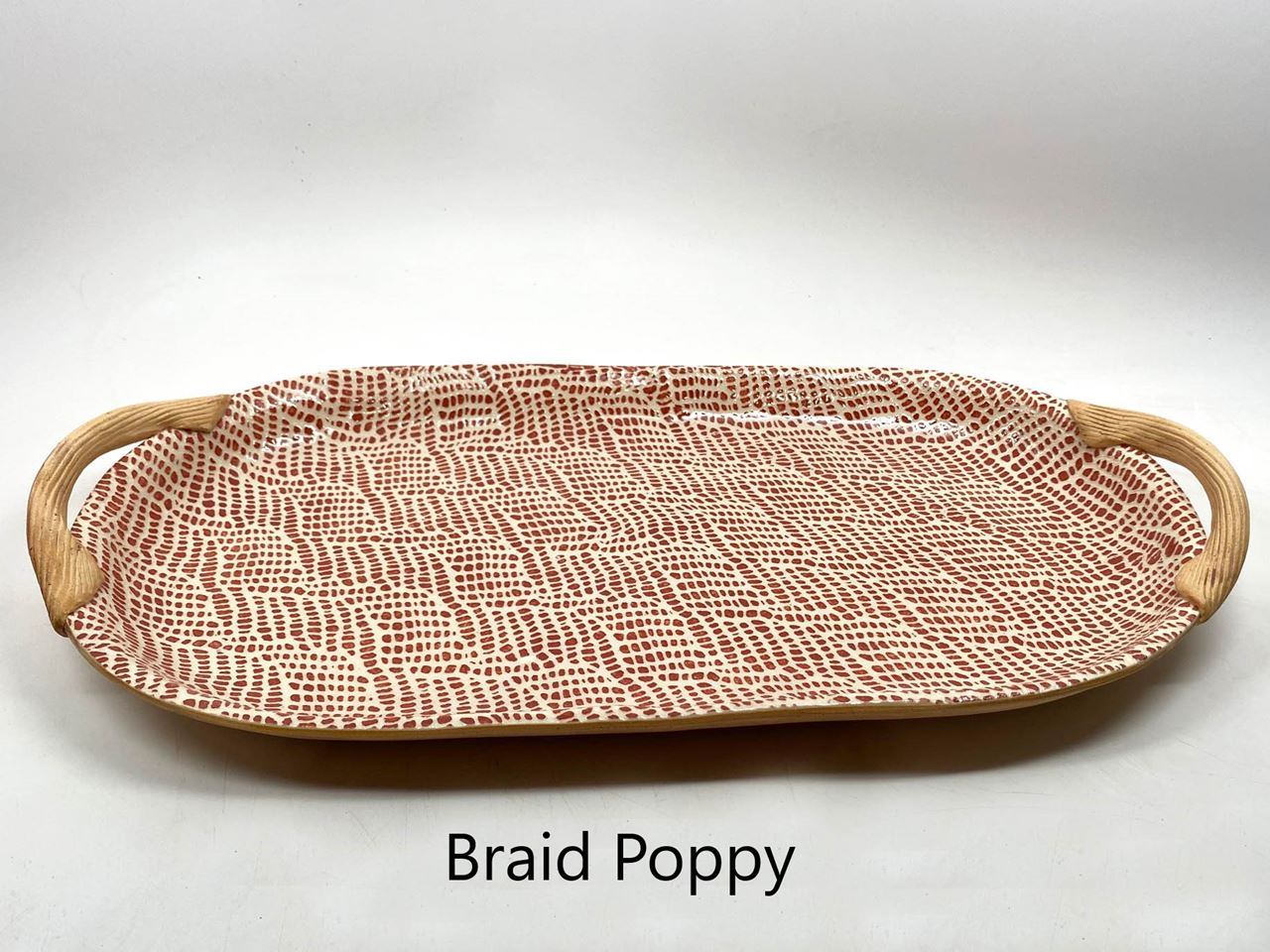Picture of Terrafirma Ceramics   Oval Tray with Handles