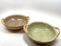 Terrafirma Ceramics | Veggie Bowl with Handles