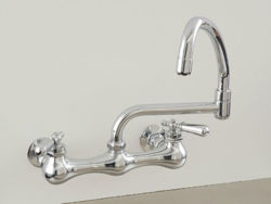 Strom Plumbing Wall-Mount Swivel Pot Filler Faucet