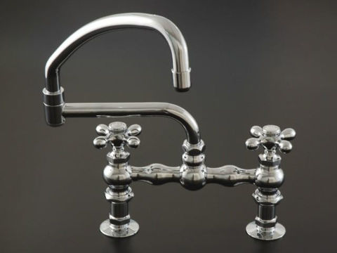 Strom Plumbing Deck-Mount Swivel Pot Filler Faucet