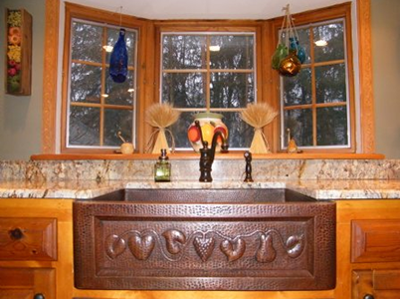 Bonnie's Copper Farmhouse Sink