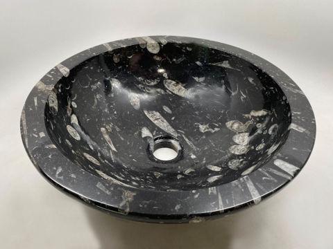 Genese Fossil Vessel in Noir (112)