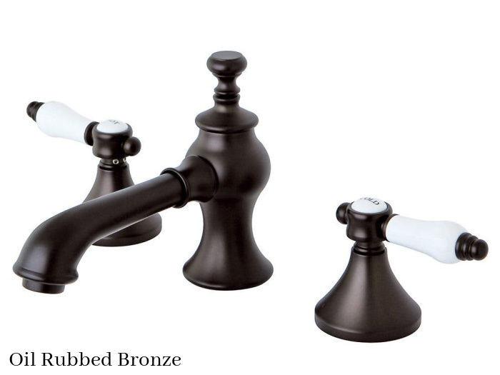 Kingston Brass Bel-Air Widespread Bathroom Faucet KC7065BPL Oil Rubbed Bronze