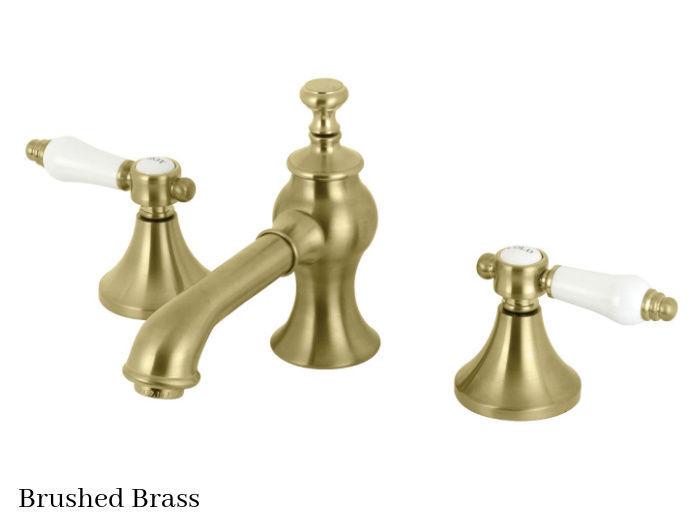 Kingston Brass Bel-Air Widespread Bathroom Faucet KC7067BPL Brushed Brass