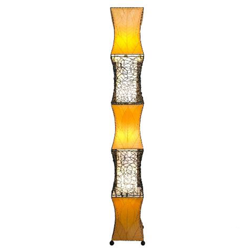 Picture of Unique Floor Lamp | Pagoda Cocoa - X-Large