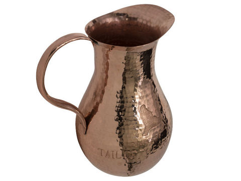 Polished Copper Pitcher By SoLuna