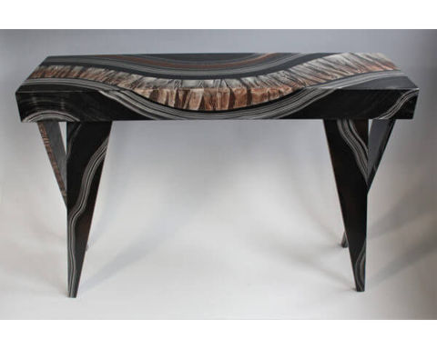 Grant-Norén Rectangular Console Table - Dark River