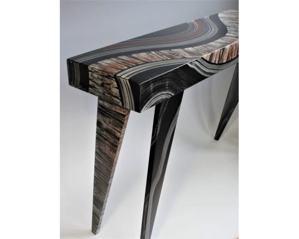 Picture of Grant-Norén Rectangular Console Table - Dark River