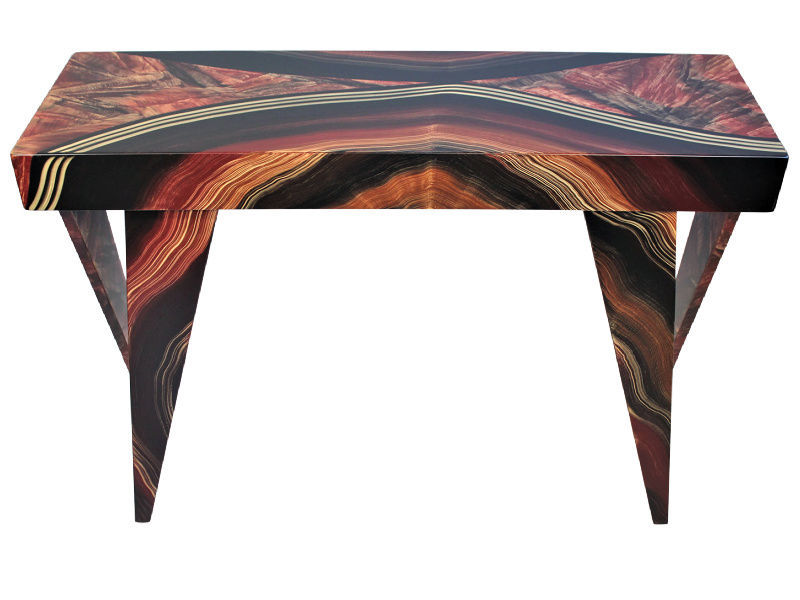 Picture of Grant-Norén Rectangular Console Table -Dark Vienna