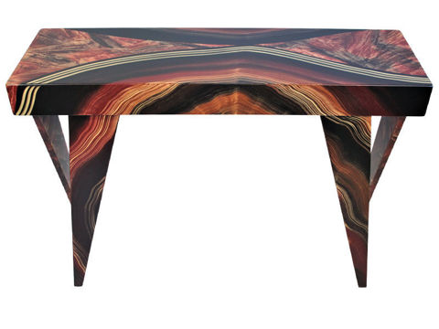 Grant-Norén Rectangular Console Table -Dark Vienna