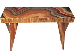 Picture of Grant-Norén Rectangular Console Table - Malakite