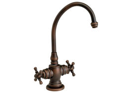 Picture of Waterstone Hampton Hot and Cold Filtration Faucet - Cross Handles