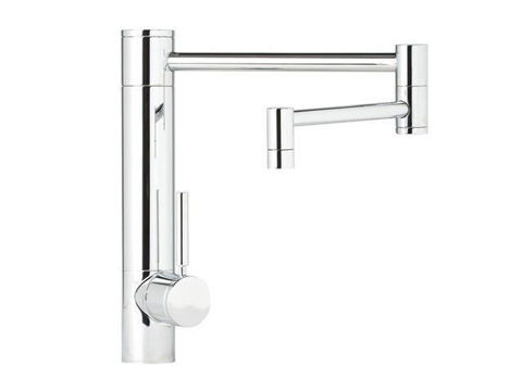 "Waterstone Hunley Kitchen Faucet - 18"" Spout Reach"